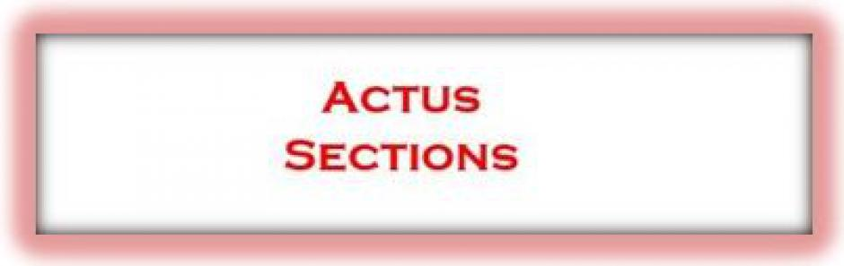 ACTUS SECTIONS