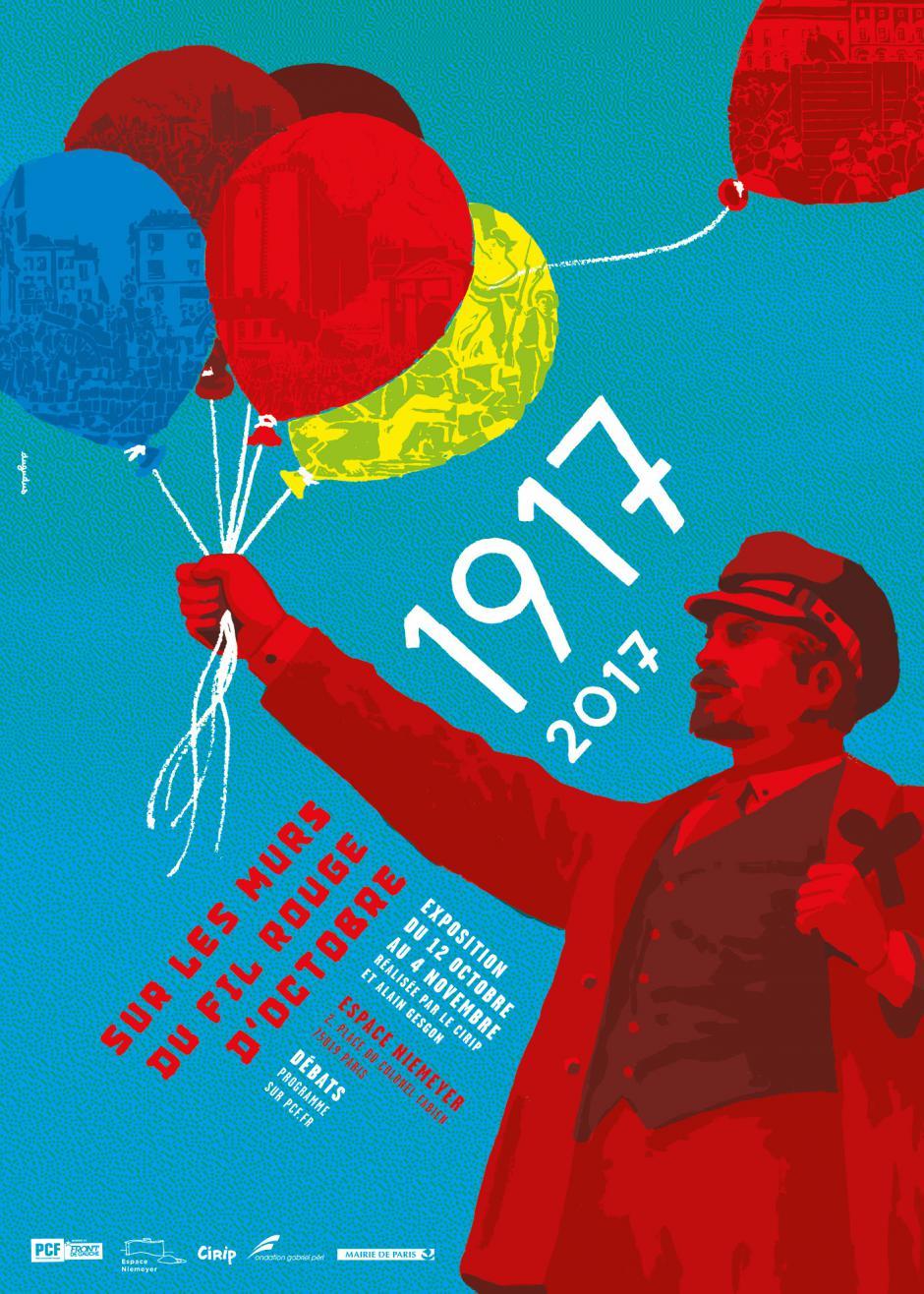 RÊVOLUTIONS - initiative  du PCF à l'occasion du Centenaire de la Révolution d'Octobre 1917