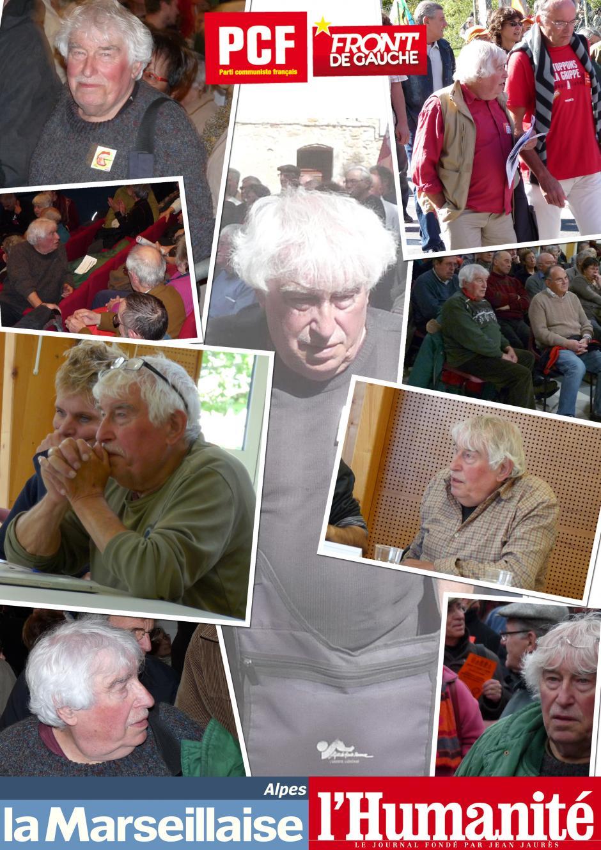 Le militant communiste de Sisteron Jean-Jacques Leporati nous quittait samedi dernier