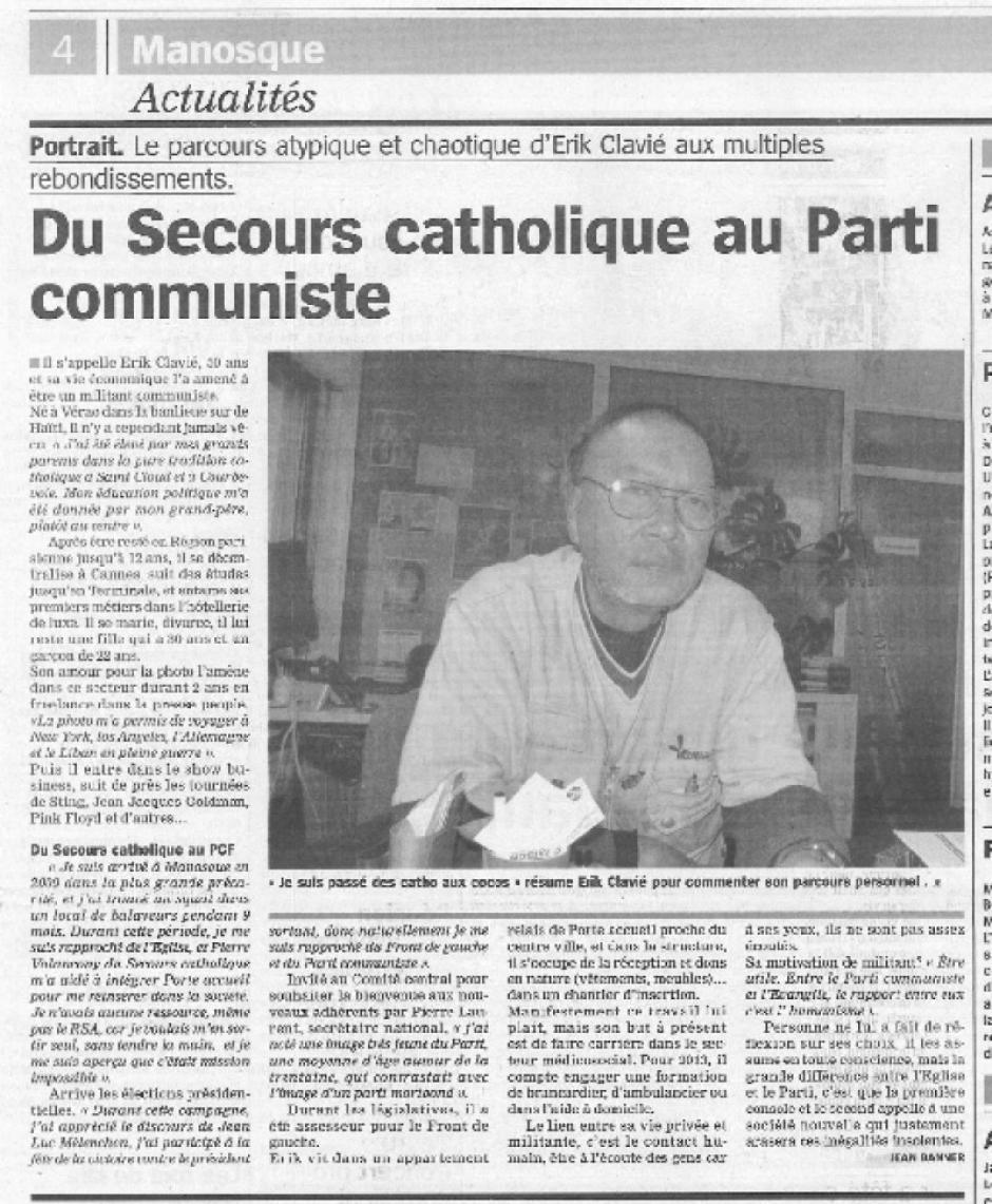 Marseillaise revue de presse