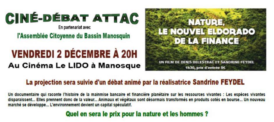 Ciné-Débat ATTAC :