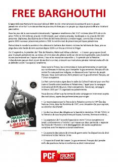 TRACT - Free Barghouti / Convergence Palestine